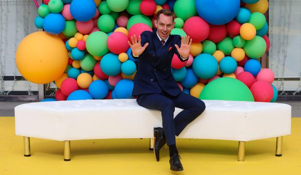 16/8/2018 RTE announce New Season Launch - Ryan Tubridy pictured at a photocall at Donnybrook in Dublin yesterday(Thurs).Pic: Collins