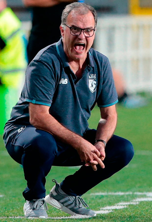 MAN WITH THE MIDAS TOUCH: Leeds United boss Marcelo Bielsa. Photo: Emilio Andreoli/Getty Images)