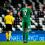 16 August 2018; Damien Delaney of Cork City reacts after his side conceded a third goal during the UEFA Europa League 3rd Qualifying Round Second Leg match between Rosenborg and Cork City at Lerkendal Stadion in Trondheim, Norway. Photo by Jon Olav Nesvold/Sportsfile