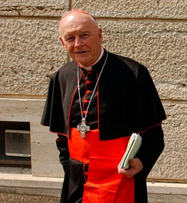 Former Washington Cardinal Theodore McCarrick is facing calls for an investigation by the Vatican into sexual abuse allegations. Photo: Marco Di Lauro/Getty Images