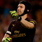 Arsenal's Petr Cech. Photo: Reuters