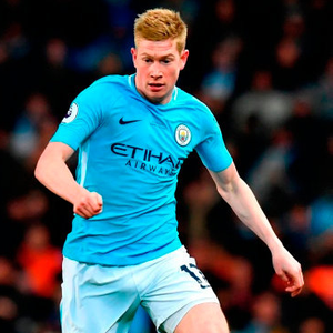 BOLT FROM THE BLUE: The loss of influential playmaker Kevin De Bruyne will be acutely felt by his City team-mates. Photo: Anthony Devlin/PA