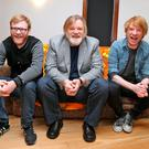 Brendan Gleeson and his sons, Brian and Domhnall. Picture: Colin Keegan