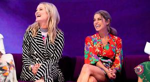 Laura Whitmore and Amy Huberman at the RTÉ New Season Launch 2018. Picture: Andres Poveda