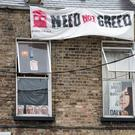 The house which had been occupied by a number of protesters at 35 Summerhill Parade. Photo: Tony Gavin