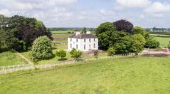 Cloneyhurke House was built approximately 250 years ago