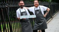 Food for thought: Andy McFadden and JP McMahon launch Food on the Edge, which takes place this Monday and Tuesday.