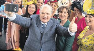 Gavin Duffy (pictured) and Joan Freeman have thrown their hats into the ring for the presidency. Photo: Mark Condren