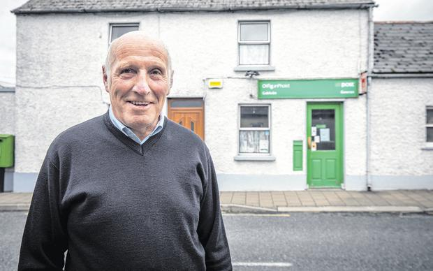 Retired postman Mick Cahill pictured in Gowran, Co Kilkenny. Photo: Dylan Vaughan