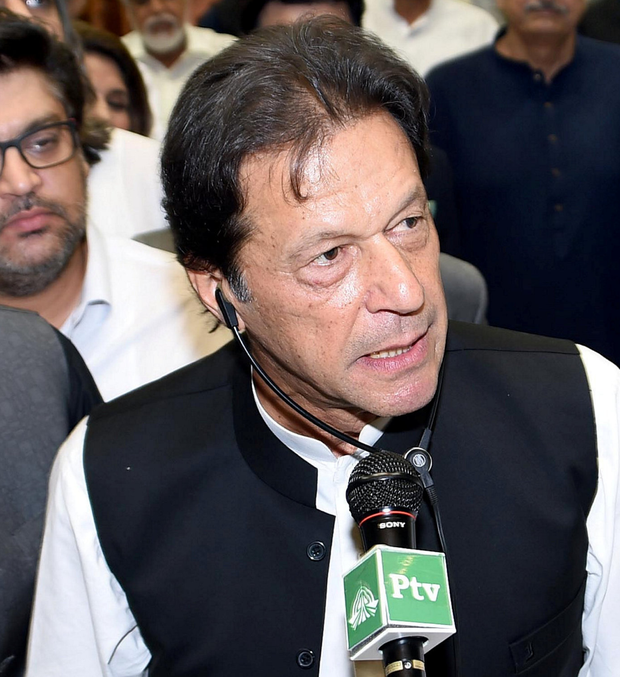 Imran Khan. Photo: Reuters