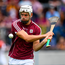 5 August 2018; Gearóid McInerney of Galway during the warm up ahead of the GAA Hurling All-Ireland Senior Championship semi-final replay between Galway and Clare at Semple Stadium in Thurles, Co Tipperary. Photo by Ramsey Cardy/Sportsfile