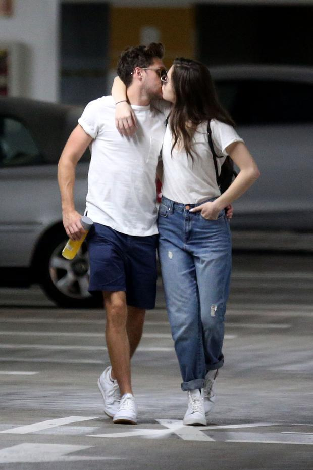 Niall Horan and Hailee Steinfeld. Photo: Splash News / SplashNews.com