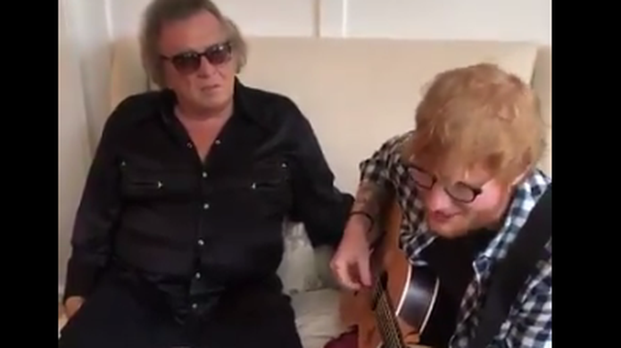 WATCH: Ed Sheeran's version of Don McLean's Vincent will