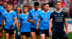 Only Dublin have a panel where players are inter-changeable to the extent that it will barely affect performance. Photo: Sportsfile