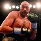 Tyson Fury in action during the fight. Action Images via Reuters/Lee Smith
