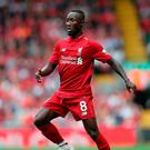 Jurgen Klopp: 'Naby Keita adapts constantly and brings himself to the next level'. Photo: PA