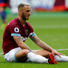 West Ham's Marko Arnautovic. Photo: Reuters