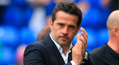 Everton manager Marco Silva. Photo: Getty Images