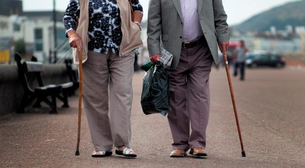 'The survey of just over 200 people found that 59pc of men have a private pension, in comparison to just 40pc of women.' Stock photo: Getty