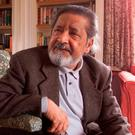 DIFFICULT: Author VS Naipaul at first sidestepped questions and then started to shun them altogether before walking out of the interview with Ciara Dwyer at his home. Picture: PA