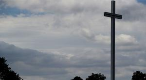 The Papal cross in Dublin's Phoenix Park (Brian Lawless/PA)