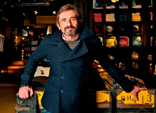 Julian Dunkerton, one of the people behind Superdry, who has reportedly donated £1 million to the group fighting for a referendum on the final Brexit deal Press: SuperGroup/PA Wire