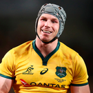 Australia back-row David Pocock. Photo: Getty Images