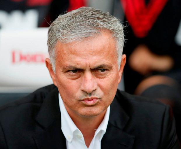 Manchester United manager Jose Mourinho. Photo: David Klein/Reuters