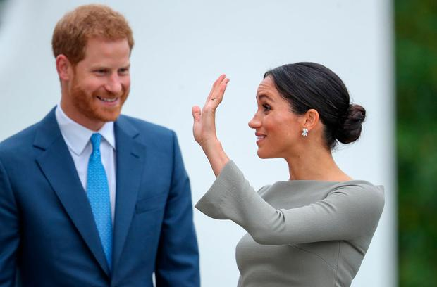 Meghan Markle reportedly in Toronto for first solo trip without Prince Harry