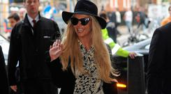 Britney Spears in London. Picture: Barcroft Images / Barcroft Media via Getty Images