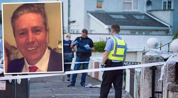Gerard Fortune (inset), who died after a stabbing at his home in Crumlin