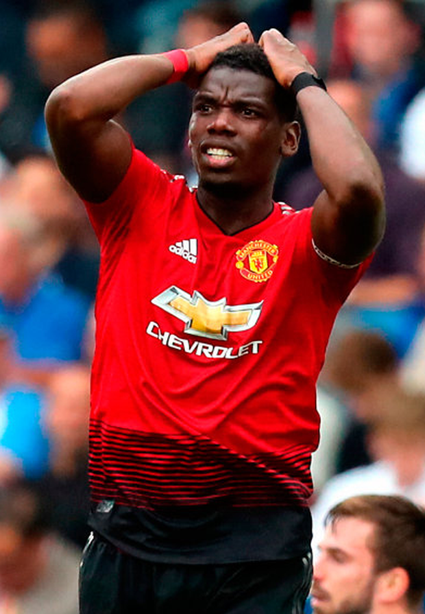 FUTURE'S BRIGHT': Manchester United midfielder Paul Pogba. Photo: PA
