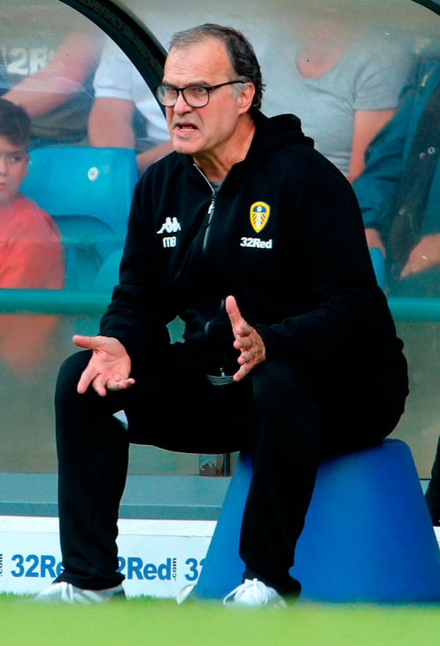 Leeds United manager Marcelo Bielsa. Photo: PA