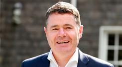 Finance Minister Paschal Donohoe brings in his next Budget in October. Photo: Frank McGrath