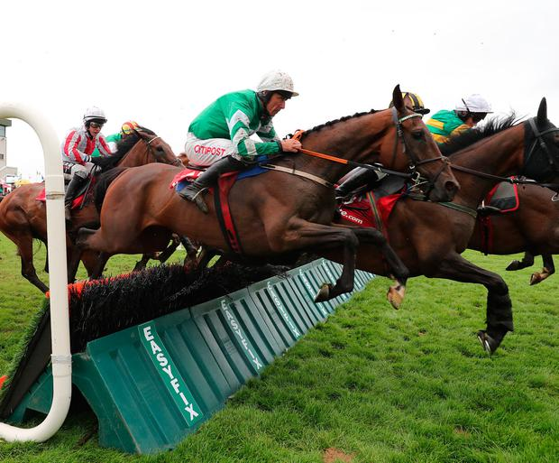 SPEIR' WE GO: Speirling ridden by Davy Russell Pic: Racing Post