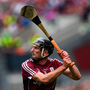 19 August 2018; Pádraic Mannion of Galway during the GAA Hurling All-Ireland Senior Championship Final match between Galway and Limerick at Croke Park in Dublin. Photo by Ramsey Cardy/Sportsfile