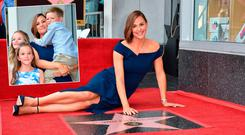 Actress Jennifer Garner receives a star on the Hollywood Walk of Fame, August 20, 2018 in Hollywood, California
