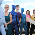 Moda by Dulux has partnered with Creators.ie as a colourful sponsor for three months. Pictured:Sasha Kinch, INM; Padraigh Ryan, Mediacom; Ciara Edge, Dulux; Tara Walsh, INM.