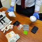 Gardaí attached to the Street Crime Unit at Kevin Street Garda Station made the seizure