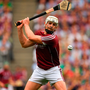 Joe Canning of Galway in action during the GAA Hurling All-Ireland Senior Championship Final.