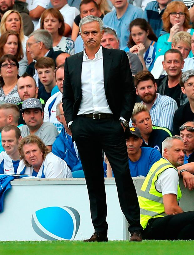 Manchester United manager Jose Mourinho. Photo credit: Gareth Fuller/PA Wire