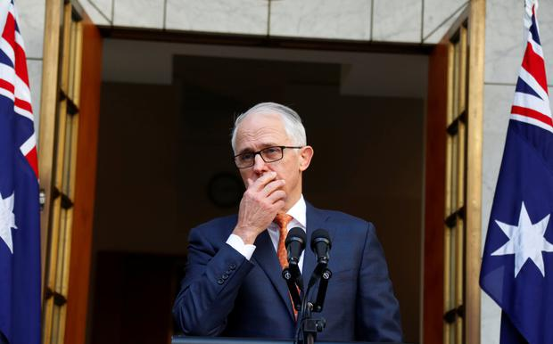 Australia ruling party chooses Treasurer Morrison as next PM
