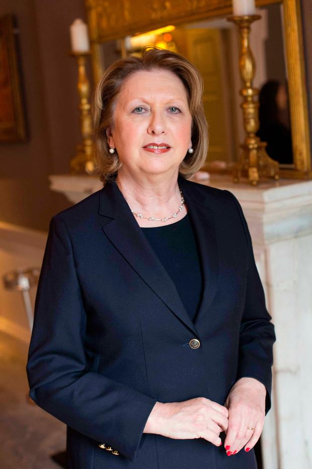 Former president Mary McAleese Photo by Richie Stokes