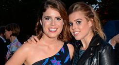 Princess Eugenie of York (L) and Princess Beatrice of York attend the annual summer party in partnership with Chanel at The Serpentine Pavilion on June 19, 2018 in London, England. (Photo by David M. Benett/Dave Benett/Getty Images for Serpentine Galleries)