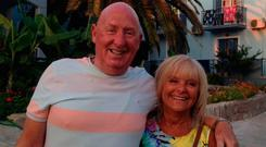 John and Susan Cooper died within hours of each other on Tuesday