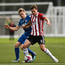 Ben Fisk of Derry City in action against Simon Madden of St Patrick's Athletic during the Irish Daily Mail FAI Cup Second Round match between Derry City and St. Patrick's Athletic at Brandywell Stadium, in Derry.