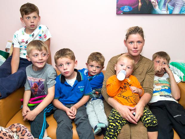 Margaret Cash and her children spent a night sleeping on chairs in Tallaght garda station