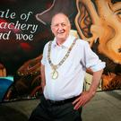 DOWN TO EARTH: New Lord Mayor Nial Ring wearing his chain of office. Photo: David Conachy