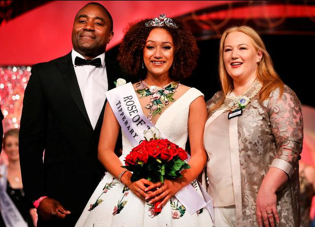 Waterford Rose Kirsten Mate Maher was crowned Rose of Tralee 2018. Photo: Steve Humphreys
