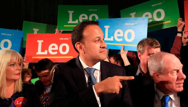 CONTEST: The then Minister for Social Protection, Leo Varadkar, at Wood Quay when he officially launched his campaign for the leadership of Fine Gael. Photo: Colin Keegan
